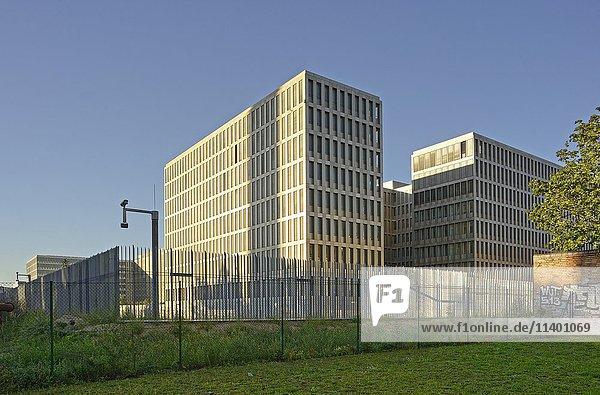 Bundesnachrichtendienst-Zentrale  BND  Neubau  Chausseestraße  Berlin  Deutschland  Europa