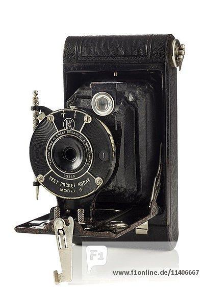 Historische Kamera  Kodak Modell B  hergestellt von 1912-1926