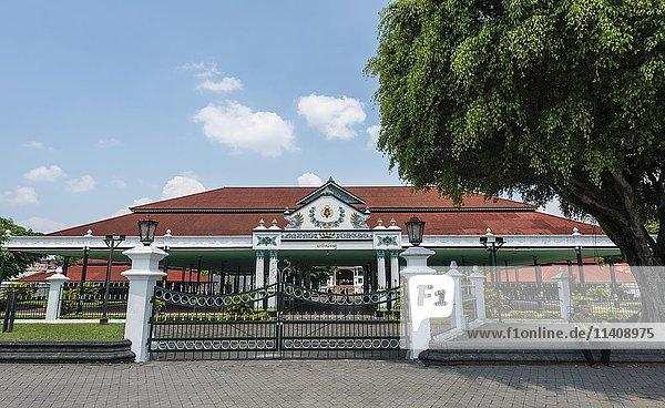 Palast von Yogyakarta  Keraton Yogyakarta  Yogyakarta  Java  Indonesien  Asien
