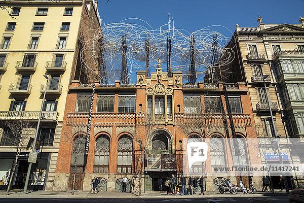 'Antoni Tapies Museum; Barcelona  Catalonia  Spain'