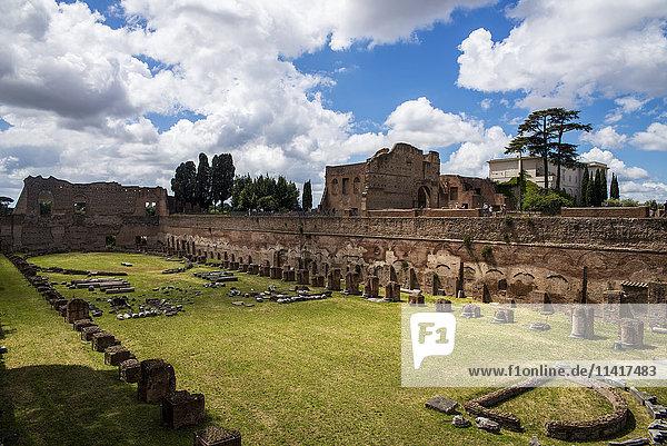 'Roman Forum; Rome  Italy'