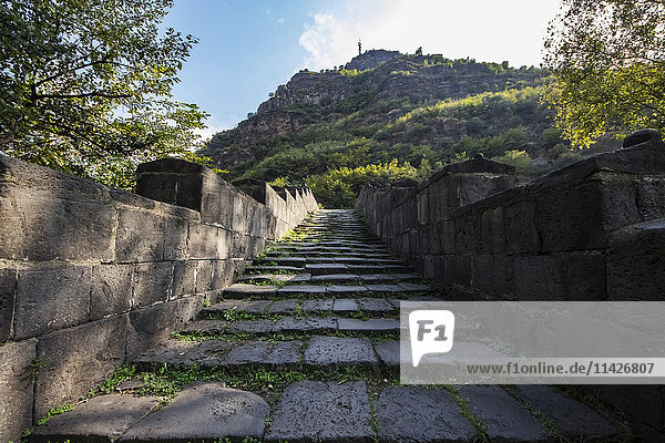 'Sanahin Bridge  built in 1195 over the Debed River; Alaverdi  Lori Province  Armenia'