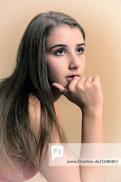 Teenage girl.