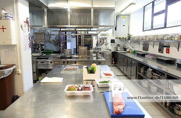 Cooking school  Cuisine School  Donostia  San Sebastian  Gipuzkoa  Basque Country  Spain  Europe