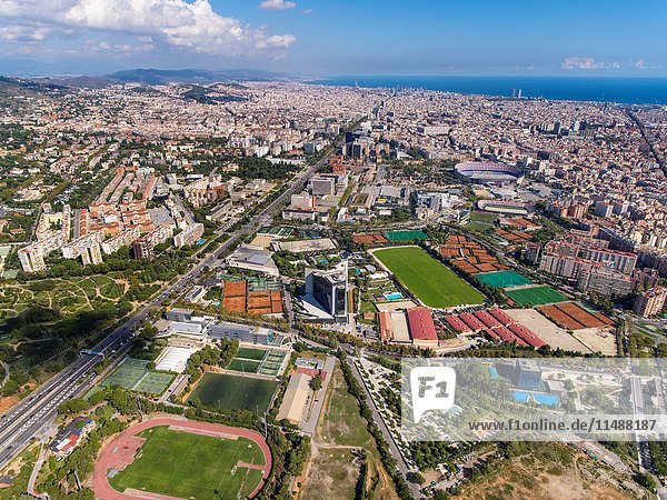 Sports facilities of Football Club Barcelona. Camp Nou.
