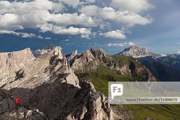 Nuvolao  Ampezzo Dolomites  Cortina d'Ampezzo  Belluno  Veneto  Italy.