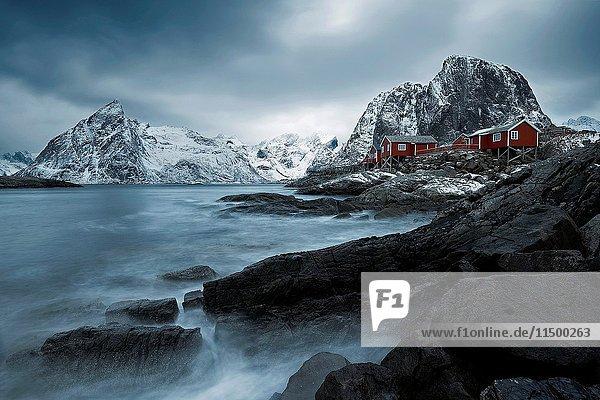 Hamnoy  Lofoten islands  Norway.