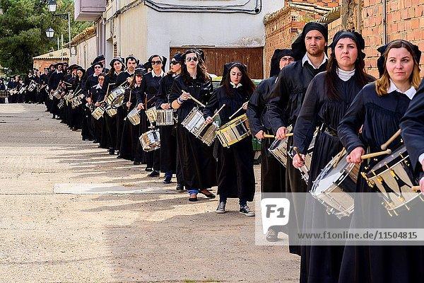 Drum and Bass Drum Route in la Puebla de Hijar  Spain