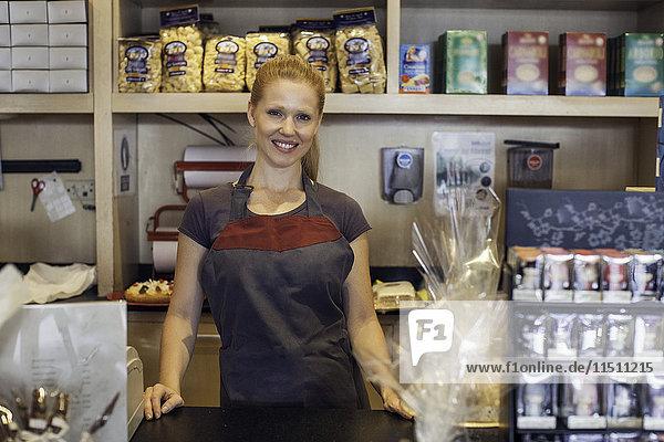 Ladenbesitzer  Portrait
