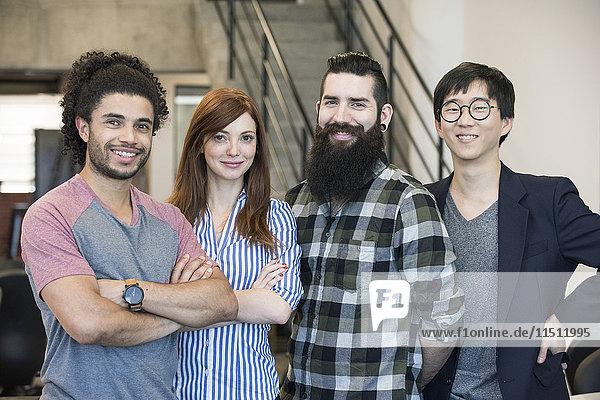 Kollegengruppe  Porträt