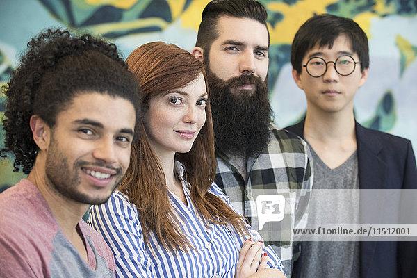 Team von Kollegen  Porträt