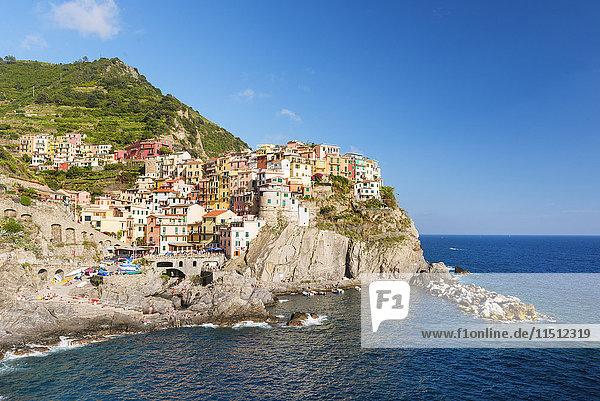 Manarola  Cinque Terre  Liguria  Italy.