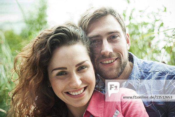 Paare im Freien  Portait