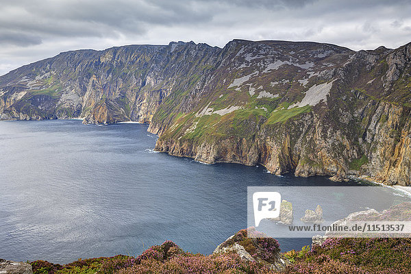 Slieve League  County Donegal  Ulster  Republic of Ireland  Europe