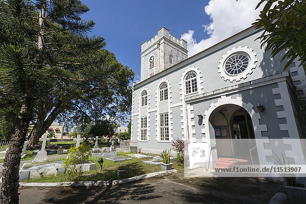 St. Mary's Church  Bridgetown  St. Michael  Barbados  West Indies  Caribbean  Central America