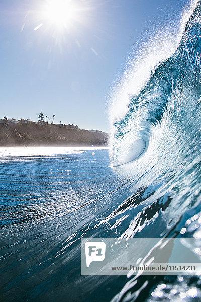Meereswelle  Encinitas  Kalifornien  USA