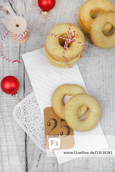Frollini (Butterkekse) für Weihnachten
