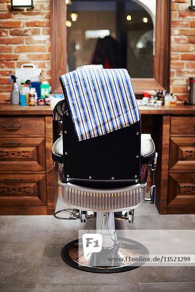 Barbierstuhl  Rückansicht