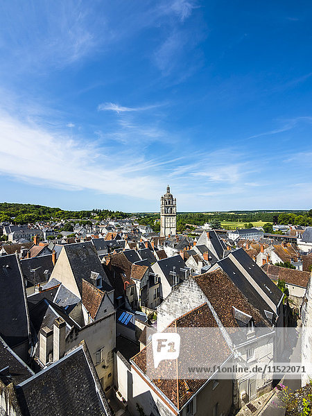 France  Loches  townscape