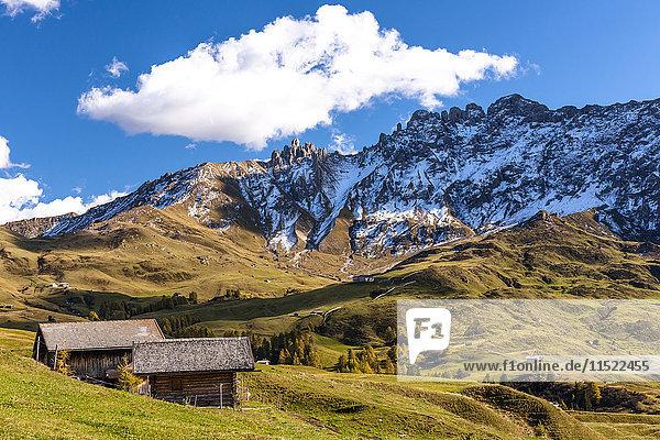 Italien  Südtirol  Seiser Alm  Rosszaehne