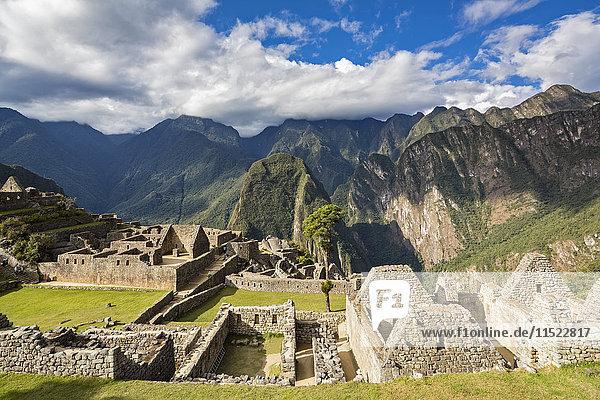 Peru  Anden  Urubamba-Tal  Machu Picchu