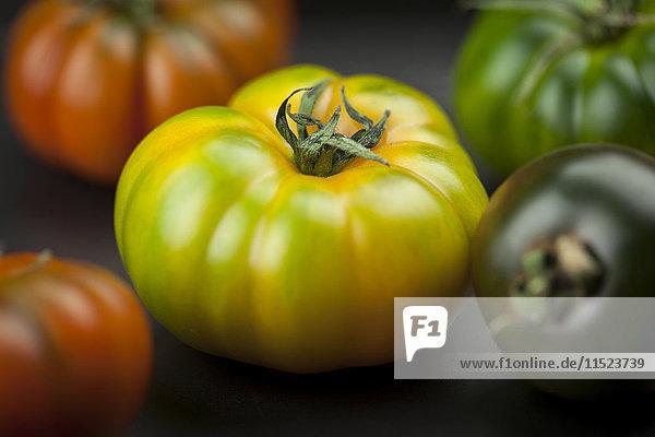 Gelbgrüne Oxheart Tomate