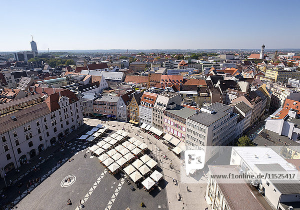 Germany  Augsburg  Townhall Square