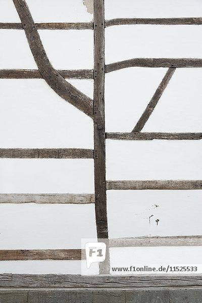 Deutschland  Solingen  Teil der Fassade eines Fachwerkhauses