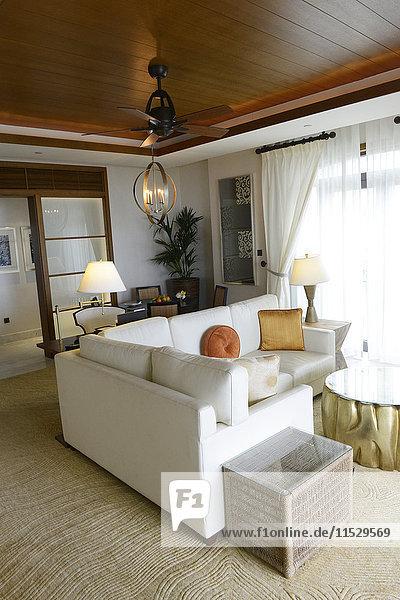 Vereinigte Arabische Emirate  Abu Dhabi  The St Regis Saadiyat island Resort
