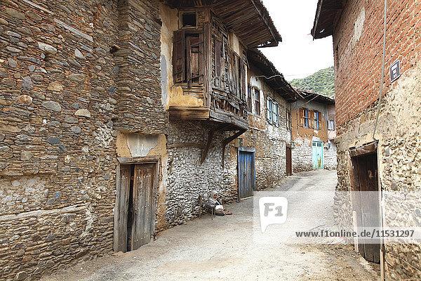 Türkei  Provinz Izmir  Bezirk Odemis  Dorf Birgi  traditionelles osmanisches Haus
