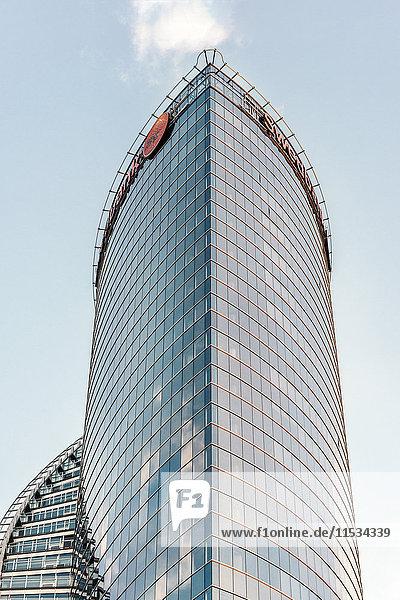 Latvia  Riga  Saules Akmens skyscraper