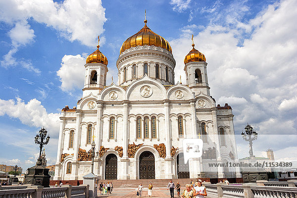 Russia  Moscow  Cathedral of Christ the Saviour