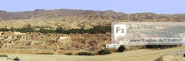 Tunesien  Tamerza  Oase in den Bergen nahe der algerischen Grenze