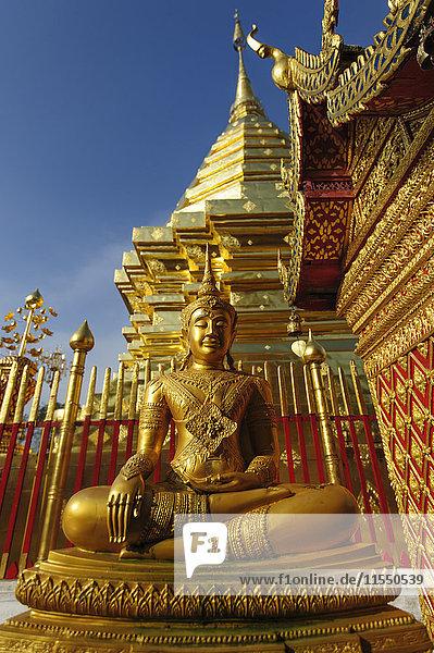 Thailand  Chiang Mai  Wat Phra That Doi Suthep