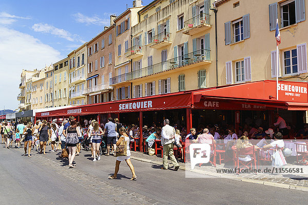 Quay Jean Jaures  Saint Tropez  Var  Cote d'Azur  Provence  French Riviera  France  Mediterranean  Europe