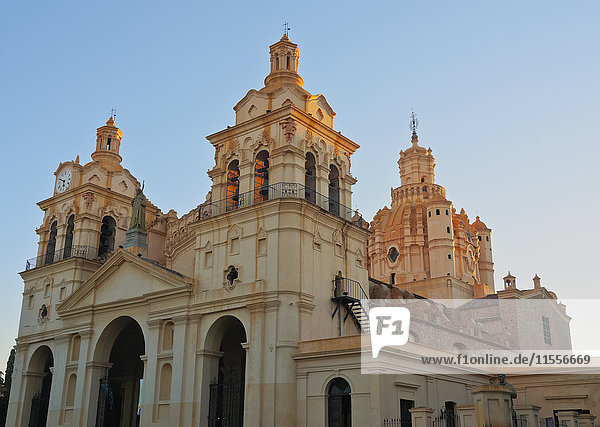 View of the Cathedral of Cordoba  Cordoba  Argentina  South America