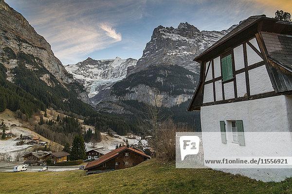 The Eiger  Grindelwald  Jungfrau region  Bernese Oberland  Swiss Alps  Switzerland  Europe
