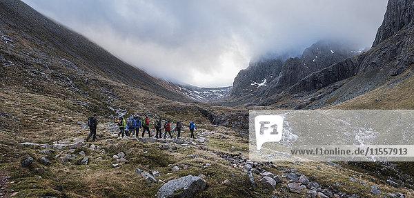 UK  Schottland  Trekking bei Ben Nevis