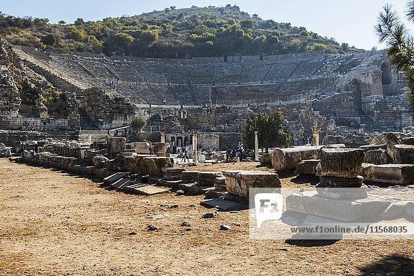 'Amphitheatre; Ephesus  Izmir  Turkey'