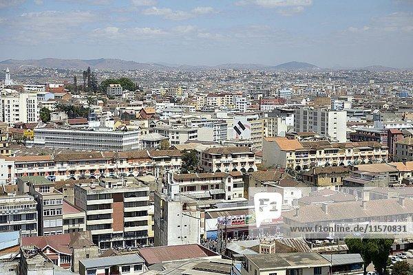 View on Antananarivo  Madagascar  Africa