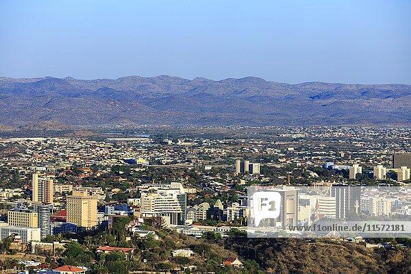 Innenstadt  Windhoek  Namibia  Afrika