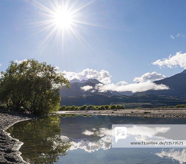 Lake Wakatipu  Kinloch  Glenorchy bei Queenstown  Südliche Alpen  Otago  Südinsel  Neuseeland  Ozeanien