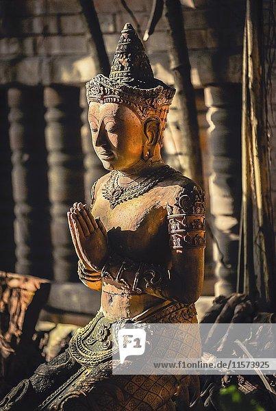 Buddha Skulptur  Terracotta Garden  Chiang Mai  Nordthailand  Thailand  Asien Buddha Skulptur, Terracotta Garden, Chiang Mai, Nordthailand, Thailand, Asien