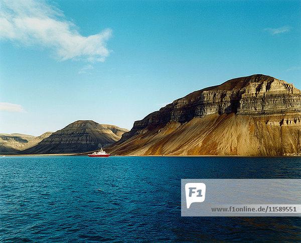 Arktische Insel Svalbard/Spitzbergen