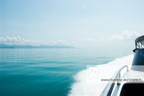 Schnellboot auf See  Koh Samui  Thailand
