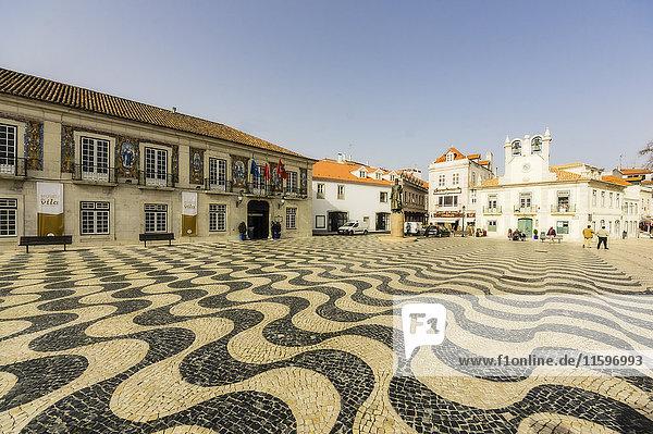 Portugal  Cascais  Stadtplatz