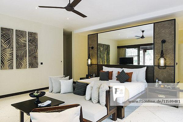 Indonesien  Bali  Hotelzimmer