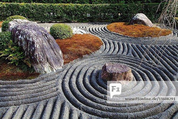 Japan  Kyoto  Taizo-in Temple  garden .