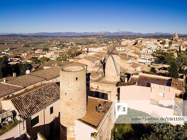 Flour mill of Can Nofre  17th century  Montuiri  Mallorca  illes balears  Spain.