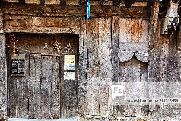 Ardixarra House  Interpretation Center of the Middle Ages  Medieval town  Segura  Gipuzkoa  Basque Country  Spain  Europe